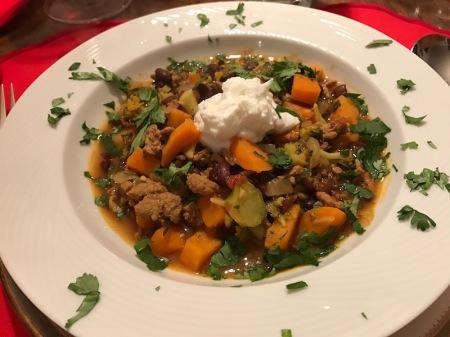 turkey-sweet-potato-bean-stew-overhead
