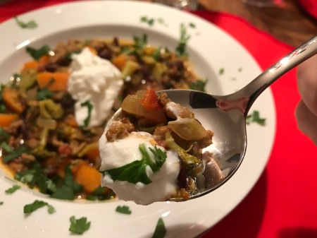 turkey-sweet-potato-bean-stew-spoon