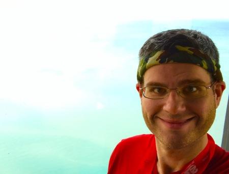 david-lake-michigan-selfie